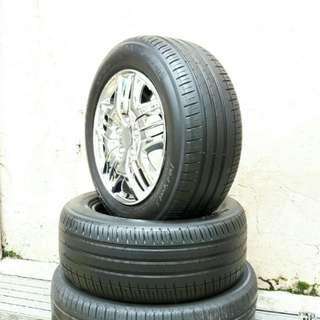 Used 225/55 R16 Michelin (2pcs) 🙋♂️