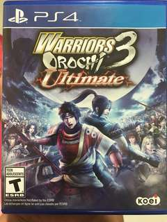 Warriors Orochi 3 (Ultimate)