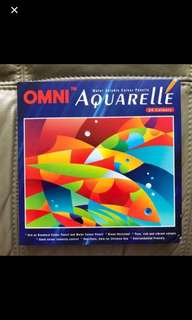Brand New In Box Omni Aquarelle water Colour pencil