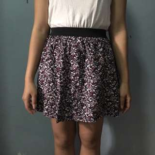 Cotton On Flower mini skirt