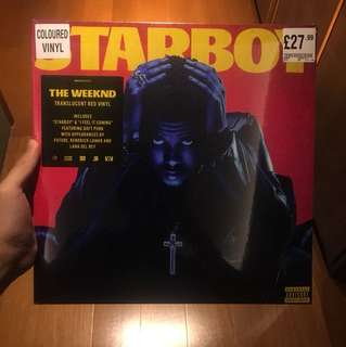 STARBOY BY THE WEEKND VINYL(sealed)