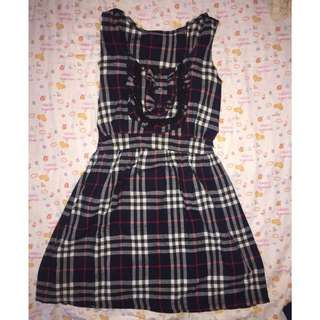 Dress kotak