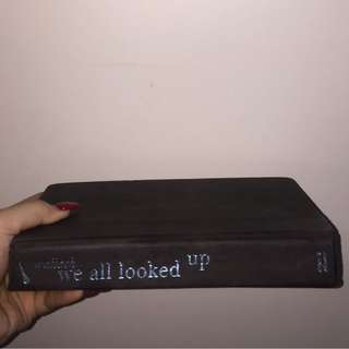 WE ALL LOOKED UP ;book by Tommy Wallach