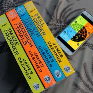 The Maze Runner Series by James Dashner