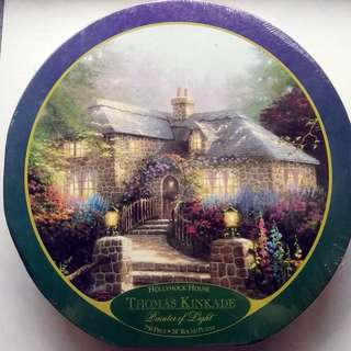 Jigsaw Puzzle 750 pcs - Hollyhock House - Thomas Kinkade