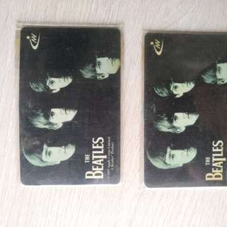 Beatles 紀念電話咭 limited edition phone card
