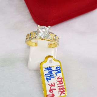 18k SD SPL Gold Engagement Ring Real Gold
