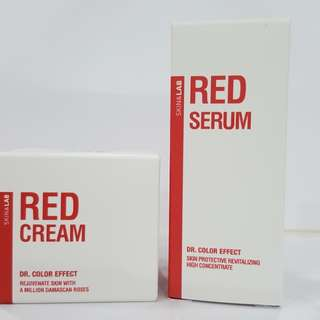 Skin & Lab Dr Color Effect Red Serum & Cream Combo