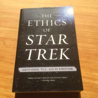 The Ethics of Star Trek Book