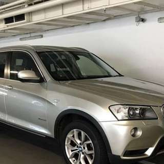 Bmw X3 with sunroof