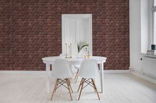 Woven brown, wallpaper