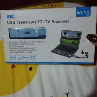 USB Freeview (HD) TV Receiver