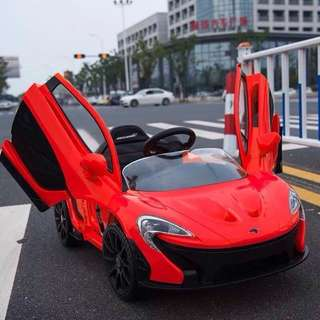Red Electric McLaren Rechargeable P1 Ride On Toy Car
