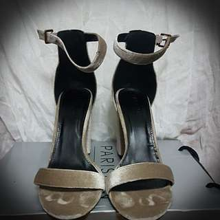 Parisian Elegance Chunky Heels