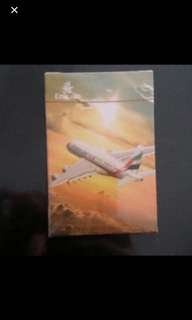 Brand New sealed  deck of Playing cards from Emirates Airlines