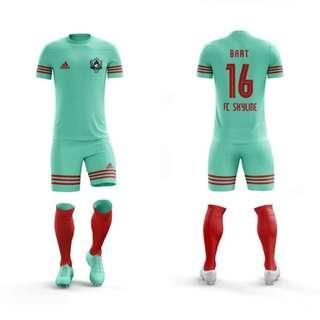custom team soccer jersey