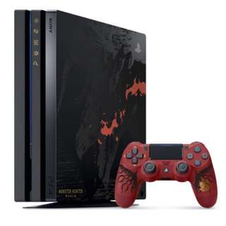 [BNIB] PS4 Pro 1TB Monster Hunter Limited Edition (Local Set)