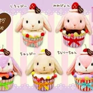 全新日本直送蛋糕兔仔公仔🎉預售