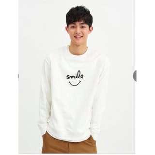 GIORDANO Sweater Urban Life Style Giordano Smile