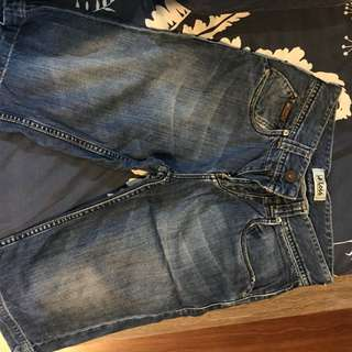 jeans pendek lois original blue