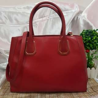Charles and Keith Red Satchel