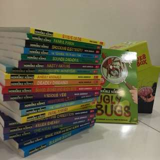 20 Horrible science books in one box collection