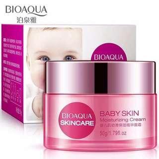 Baby skin moisturising cream
