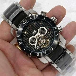 Jam tangan pria bvlgari