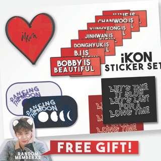 COD! iKON Return Sticker Set lowkey KPOP