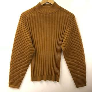 Victoria Beckham brown sweater top size M