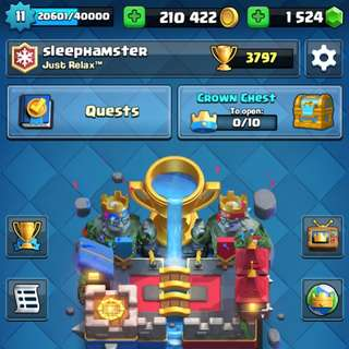 Clash Royale Account HIGH LEVEL