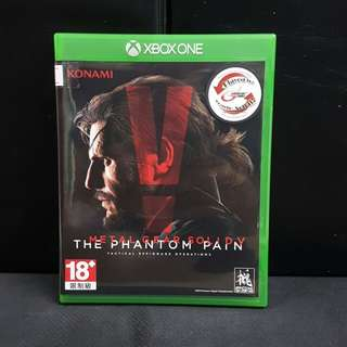 XBOX ONE Metal Gear Solid V The Phantom Pain (Used Game)