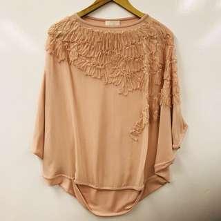 Anteprima pink silk top size 38