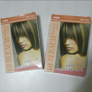 PO Bleaching kits powder + lotion set * waiting time 3 days after payment is made *pm to order