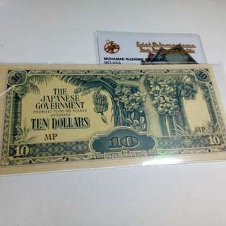 $10 DOLLAR JIM MALAYA RARE