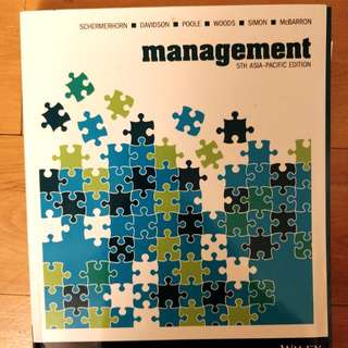 Management 5th Asia Pacific Edition textbook