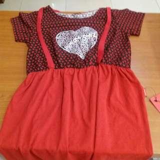 One Plus short Polcadot Dress