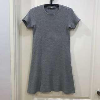 Zara Grey Dress-Size S