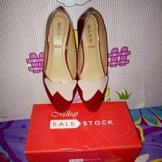 Flatshoes milsqi sale stock NEW