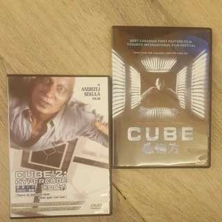 Cube 1,2 DVD