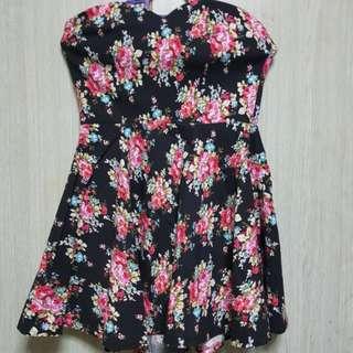 Floral Tube Dress/Tops