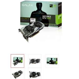Galaxy gtx1060 3gb oc