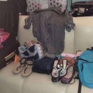 3 koper pakaian wanita bekas