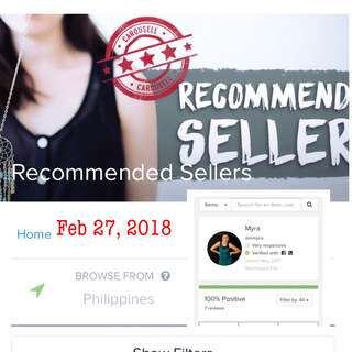 HIGHLY RATED SELLER!! 🌹🤩💕🎉 THANKS CAROUSELL