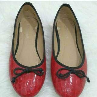 IconNinety9 FlatShoes Red