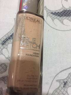 Loreal True Match in F1 Rose Ivory