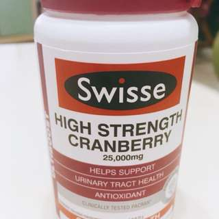 Swisse 高濃度蔓越莓精華(90顆)