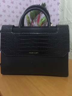 Authentic Charles and keith two way bag2 design
