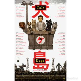 Isle of Dogs Poster 2018
