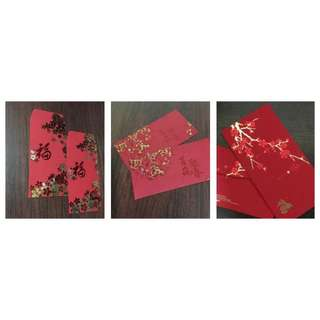 CNY Red Packets (3 Packs)